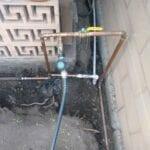 Replacing the main underground water line | Plumbing Codes