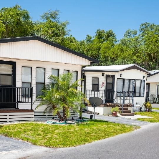 Double Wide Mobile Home sizes and dimensions